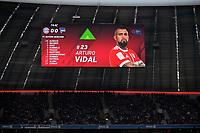 24.02.2018,  Football 1.Liga 2017/2018, 24. match day,  FC Bayern Muenchen - Hertha BSC Berlin, in Allianz Arena Muenchen. Arturo Vidal (FC Bayern Muenchen)  *** Local Caption *** © pixathlon<br /> <br /> Contact: +49-40-22 63 02 60 , info@pixathlon.de