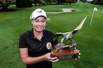 Brittney Dryland wins the Barfoot and Thompson Charles Tour, Akarana Open, Akarana Golf Club, Auckland, Sunday 17  April 2016. Photo: Simon Watts/www.bwmedia.co.nz
