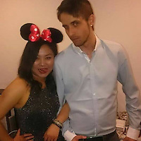 "Pictured: Jordan Matthews with girlfriend Xixi Bi, image taken from open social media site<br /> Re: A man called 999 after allegedly beating his girlfriend to death saying he had been ""really, really horrible"" to her, a court heard.<br /> Jordan Matthews, of Ely Road, Cardiff, is accused of murdering his girlfriend of 16 months, Xixi Bi.<br /> Cardiff Crown Court heard Miss Bi, 24, had a broken jaw, ribs and widespread bruising following the attack in August 2016.<br /> Mr Matthews, 24, admits manslaughter but denies murder.<br /> Paul Lewis, QC, prosecuting, said it was a ""vicious, sustained and prolonged attack"".<br /> A 999 call made by Mr Matthews at 08:00 GMT on 19 August 2016 was played in court, in which he said the pair had bickered the night before and he had hit her.<br /> He told the operator he had been ""really, really horrible"" to Miss Bi and she was now struggling to breathe, that he had done CPR on her and she was responding."
