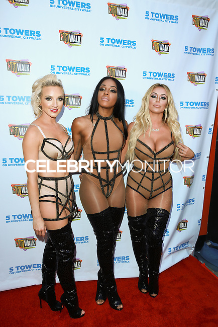 UNIVERSAL CITY, CA, USA - JULY 10: Shannon Bex, Dawn Richard and Aubrey O'Day of Danity Kane attend Universal CityWalk's 'Music Spotlight Series' at Universal CityWalk on July 10, 2014 in Universal City, California, United States. (Photo by David Acosta/Celebrity Monitor)