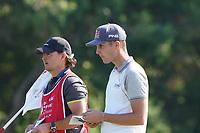Matthias Schwab (AUT) on the 7th during the Pr0-Am of the Abu Dhabi HSBC Championship 2020 at the Abu Dhabi Golf Club, Abu Dhabi, United Arab Emirates. 15/01/2020<br /> Picture: Golffile | Thos Caffrey<br /> <br /> <br /> All photo usage must carry mandatory copyright credit (© Golffile | Thos Caffrey)