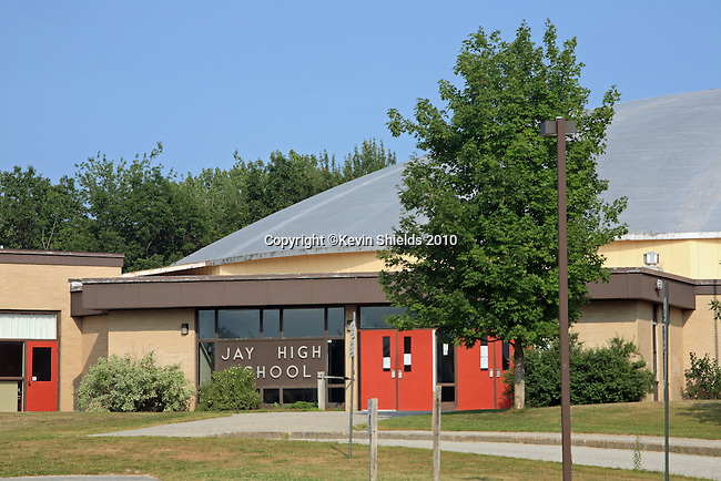 Jay High School, Jay, Maine, USA