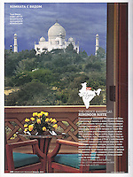 Cond&eacute; Nast Traveler (Russian edition), February 2013, &quot;Room with a View&quot; feature.<br />