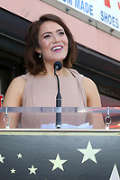 LOS ANGELES - MAR 25:  Mandy Moore at the Mandy Moore Star Ceremony on the Hollywood Walk of Fame on March 25, 2019 in Los Angeles, CA