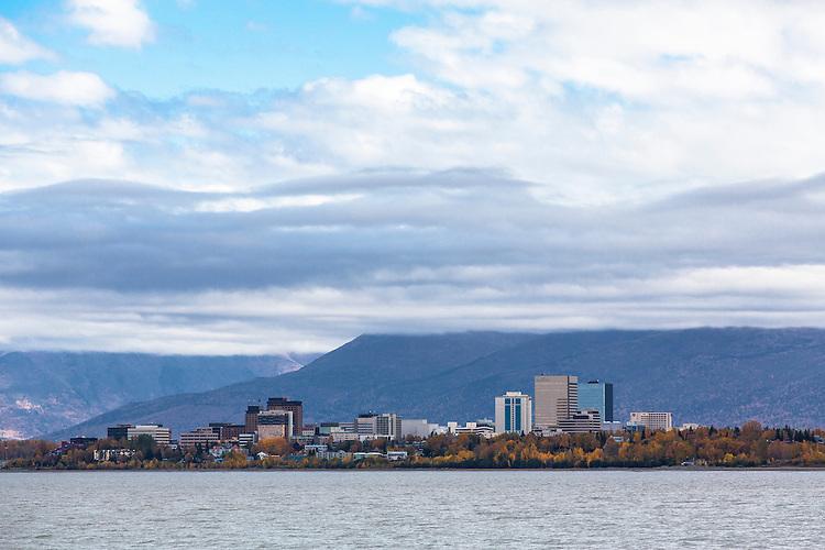 Anchorage, Alaska, in fall.