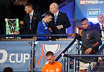 08.11.2019 League Cup Final, Rangers v Celtic: Rangers team dejection