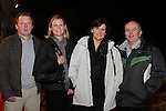 Barry and Noelle Craven with Elizabeth and Terry Sands at the Male Voice Choir in St.Peters Church of Ireland...(Photo credit should read Jenny Matthews www.newsfile.ie)....This Picture has been sent you under the conditions enclosed by:.Newsfile Ltd..The Studio,.Millmount Abbey,.Drogheda,.Co Meath..Ireland..Tel: +353(0)41-9871240.Fax: +353(0)41-9871260.GSM: +353(0)86-2500958.email: pictures@newsfile.ie.www.newsfile.ie.