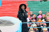 PHILADELPHIA, PA - NOVEMBER 24 : Estelle pictured at the 2016 Philadelphia Thanksgiving Day Parade in Philadelphia, Pa on November 24, 2016  photo credit Star Shooter/MediaPunch