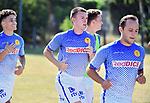 2018-07-14 / Voetbal / Seizoen 2018-2019 / Eerste training KFC Duffel / Yaron Coen komt over van de beloften van Lokeren<br /> <br /> ,Foto: Mpics
