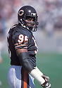 Chicago Bears, Richard Dent(95) in action against the Tampa Bay Buccaneers on October 18, 1992 at  Soldier  Field in Chicago, Illinois .  The Bears  beat the Buccaneers 31-14.