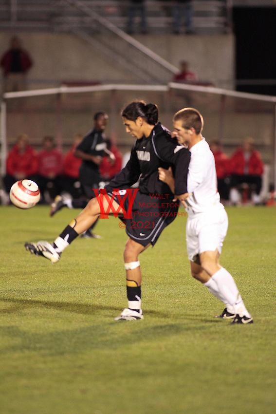Men's NCAA Soccer, Oakland Michigan vs. Ohio State University, 10 10 2007 At OSU