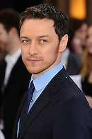"James McAvoy arriving for the ""X-Men: Days of Future Past"" UK premiere at the Odeon Leicester Square, London. 12/05/2014 Picture by: Steve Vas / Featureflash"