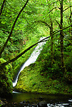 Briadal veil falls, Columbia River Gorge, Oregon