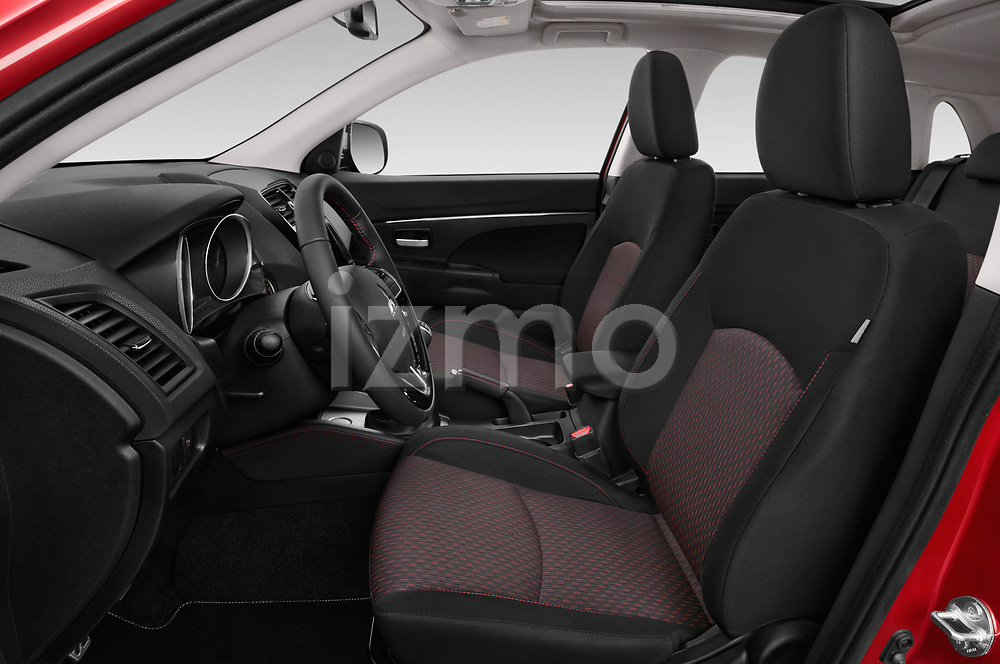 Front seat view of a 2019 Mitsubishi ASX Black Collection 5 Door SUV front seat car photos