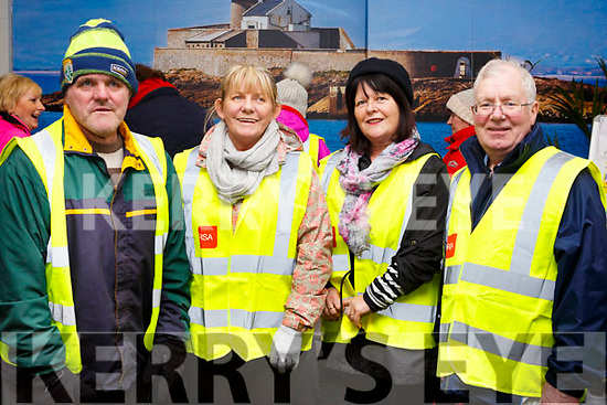Attending the SuperValu Rock St Operation Transformation on Thursday evening last, l-r, John O'Connor, Mary Doyle, Bernie Hayes and Michael Locke.