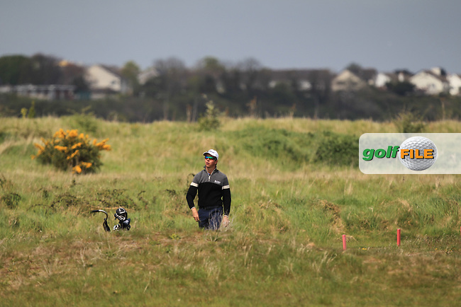 Loris Schuepbach (SWI) on the 13th during Round 1 of the Flogas Irish Amateur Open Championship at Royal Dublin on Thursday 5th May 2016.<br /> Picture:  Thos Caffrey / www.golffile.ie