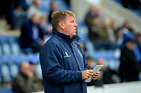 Mansfield Town manager Steve Evans <br /> <br /> Photographer Hannah Fountain/CameraSport<br /> <br /> The EFL Sky Bet League Two - Colchester United v Mansfield Town - Saturday 7th October 2017 - Colchester Community Stadium - Colchester<br /> <br /> World Copyright &copy; 2017 CameraSport. All rights reserved. 43 Linden Ave. Countesthorpe. Leicester. England. LE8 5PG - Tel: +44 (0) 116 277 4147 - admin@camerasport.com - www.camerasport.com