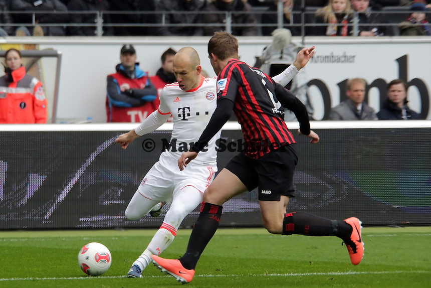 Arjen Robben (Bayern) gegen Bastian NOczipka (Eintracht)