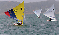 BARRANQUILLA - COLOMBIA, 24-07-2018: Juan Martinez (Colombia) durante su participación en las competencias de Vela, modalidad sunfish hombres, como parte de los Juegos Centroamericanos y del Caribe Barranquilla 2018. /  Juan Martinez (Colombia) during his participation in the competitions of sailing, men's sunfish mode, as a part of the Central American and Caribbean Sports Games Barranquilla 2018. Photo: VizzorImage / Cont