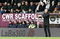 Burnley manager Sean Dyche shouts instructions to his team from the dug-out <br /> <br /> Photographer Rich Linley/CameraSport<br /> <br /> The Premier League - Burnley v Brighton and Hove Albion - Saturday 8th December 2018 - Turf Moor - Burnley<br /> <br /> World Copyright © 2018 CameraSport. All rights reserved. 43 Linden Ave. Countesthorpe. Leicester. England. LE8 5PG - Tel: +44 (0) 116 277 4147 - admin@camerasport.com - www.camerasport.com