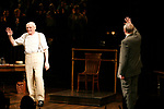 Brian Dennehy & Christopher Plummer<br />during the Opening Night Curtain Call for INHERIT THE WIND at Bryant Park Grill in New York City.<br />April 12, 2007