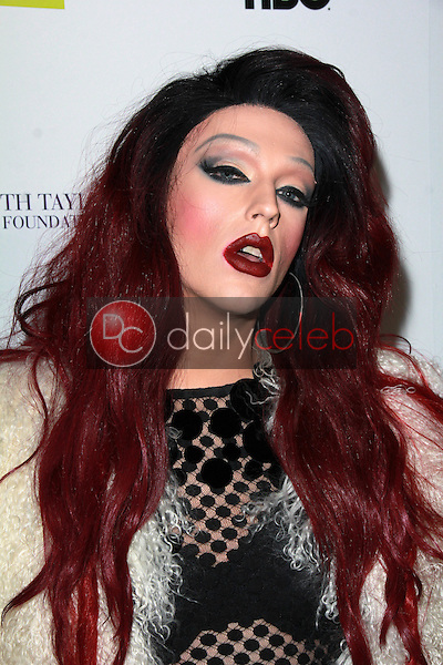 """Laganja Estranja<br /> at the HBO/Elizabeth Taylor AIDS Foundation/GLAAD """"Looking"""" Season 2 Final Screening and Party, The Abbey, West Hollywood, CA 03-19-15<br /> David Edwards/Dailyceleb.com 818-249-4998"""