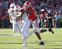 Athens, Georgia - September 1, 2018: Sanford Stadium, University of Georgia Bulldogs vs Austin Peay Governors.