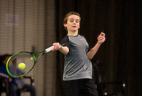 March 8, 2015, Netherlands, Rotterdam, TC Victoria, NOJK, Daniel Bernard (NED)<br /> Photo: Tennisimages/Henk Koster