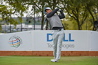 Lucas Bjerregaard (DEN) watches his tee shot on 8 during day 5 of the WGC Dell Match Play, at the Austin Country Club, Austin, Texas, USA. 3/31/2019.<br /> Picture: Golffile | Ken Murray<br /> <br /> <br /> All photo usage must carry mandatory copyright credit (&copy; Golffile | Ken Murray)
