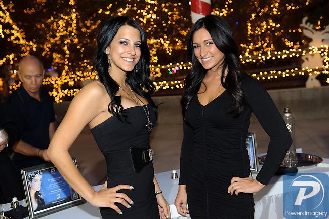 Crista Evans and Sabra Gambino at Camelot at the Magical Village, Las Vegas, NV, November 6, 2010© Al Powers, VEGAS Magazine