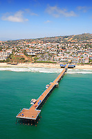 Aerial Photo of the San Clemente Pier