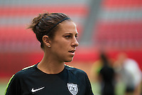 June 15, 2015: Carli LLOYD of the USA at an official practise session prior to a Group D match at the FIFA Women's World Cup Canada 2015 between Nigeria and the USA at BC Place Stadium on 16 June 2015 in Vancouver, Canada. Sydney Low/Asteriskimages.com