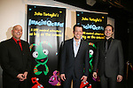 Producers Phiip Katz - John Tartaglia - Michael Shawn Lewis at the opening night of John Tartaglia's Imaginocean, a new family undersea musical adventure on March 31, 2010 at New World Stages, New York City, New York. John Tartaglia's ImaginOcean is an interactive family show - a magical, musical undersea adventure for kids of all ages. Tank, Bubbles, and Dorsel are three best friends who just happen to be fish, and they're about to set out on a remarkable journey of discovery. And it all starts with a treasure map. As they swim off in search of clues, they'll sing, they'll dance, and they'll make new friends -- including everyone in the audience. Ultimately, they discover the greatest treasure of all -- friendship. Jam-packed with original music ranging from swing to R&B to Big Band, John Tartaglia's ImaginOcean is a blast rom the first big splash to the last wave goodbye. After party was at Carmines, NYC. (Photo by Sue Coflin/Max Photos)