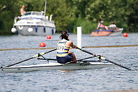 Race: 167 J1x Heat - King's Hospital Dublin (IRE)  vs Shrewsbury Sch <br /> <br /> Henley Women's Regatta 2017<br /> <br /> To purchase this photo, or to see pricing information for Prints and Downloads, click the blue 'Add to Cart' button at the top-right of the page.