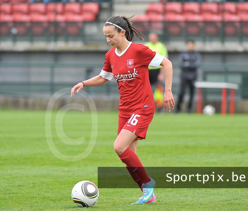 RSC Anderlecht Dames - FC Twente : Marthe Munsterman.foto DAVID CATRY / Nikonpro.be