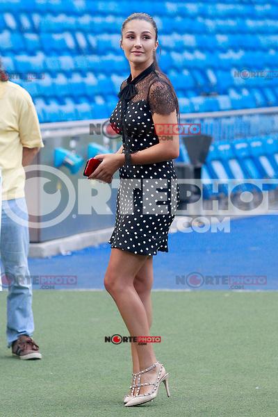 Real Madrid's new player Theo Hernandez's girlfriend Adriana Pozueco. July 10, 2017. (ALTERPHOTOS/Acero) /NortePhoto.com