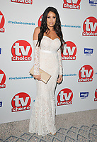 Jessica &quot;Jess&quot; Wright at the TV Choice Awards 2018, The Dorchester Hotel, Park Lane, London, England, UK, on Monday 10 September 2018.<br /> CAP/CAN<br /> &copy;CAN/Capital Pictures