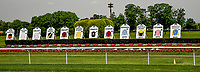 ELMONT, NY - JUNE 08: Scenes from Friday of the Belmont Stakes Festival at Belmont Park on June 8, 2018 in Elmont, New York. (Photo by Carson Dennis/Eclipse Sportswire/Getty Images)