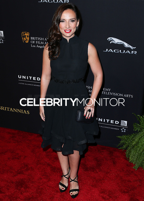BEVERLY HILLS, CA, USA - OCTOBER 30: Leila Birch arrives at the 2014 BAFTA Los Angeles Jaguar Britannia Awards Presented By BBC America And United Airlines held at The Beverly Hilton Hotel on October 30, 2014 in Beverly Hills, California, United States. (Photo by Xavier Collin/Celebrity Monitor)