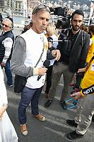 Paul Belmondo - 27Ëme Èdition du Rallye 'Aicha des Gazelles' au dÈpart de la ville de Nice, le samedi 18 mars 2017. # DEPART DU RALLYE 'AICHA DES GAZELLES' A NICE