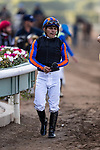 JAN 04: Abel Cedillo after the San Gabriel Stakes at Santa Anita Park in Arcadia, California on January 01, 2020. Evers/Eclipse Sportswire/CSM