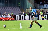 Gol Marek Hamsik Napoli Goal celebration 1-0 Marek Hamsik miglior marcatore storia del Napoli  <br /> Napoli 01-10-2017 Stadio San Paolo Football Calcio Serie A 2017/2018 Napoli - Cagliari  <br /> Foto Andrea Staccioli / Insidefoto