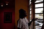 Rapper Wale inside of Steed Media before a magazine portrait shoot in Atlanta, October 12, 2011.