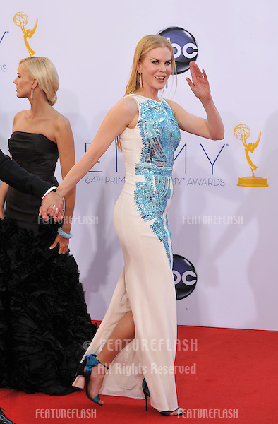 Nicole Kidman at the 64th Primetime Emmy Awards at the Nokia Theatre LA Live..September 23, 2012  Los Angeles, CA.Picture: Paul Smith / Featureflash