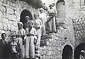 Iraq 1955 <br /> In the village of Barzan, the bombed house of the sheikhs<br /> Irak 1955<br /> A Barzan,la maison des sheikhs bombard&eacute;e