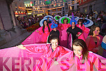 The Saturday night parade going through the town centre at the Rose of Tralee.