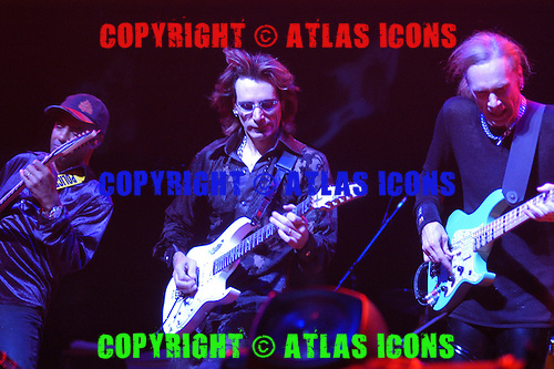 Steve Vai; Live, In New York City, On the G3 Tour.Photo Credit: Eddie Malluk/Atlas Icons.com