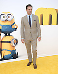 Jon Hamm attends Universal Pictures L.A. Premiere of Minions held at The Shrine Auditorium  in Los Angeles, California on June 27,2015                                                                               © 2015 Hollywood Press Agency