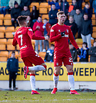 23.02.2020 St Johnstone v Rangers: Florian Kamberi scores for Rangers and celebrates