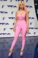 INGLEWOOD, CA - August 27: Nicki Minaj, At 2017 MTV Video Music Awards At The Forum in Inglewood In California on August 27, 2017. Credit: FS/MediaPunch